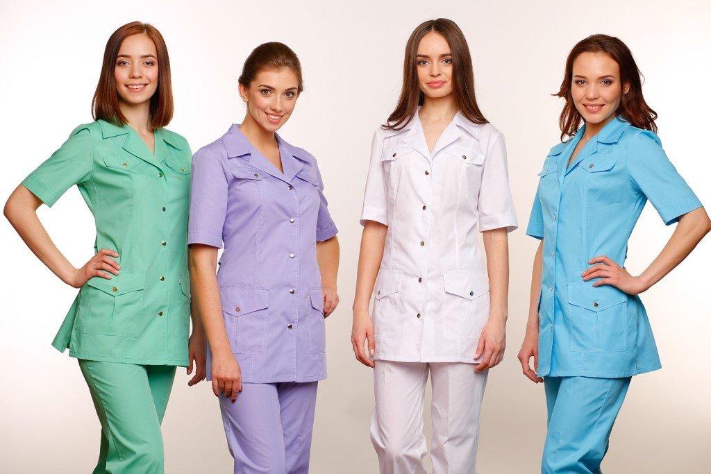 Женская медицинская одежда на весну